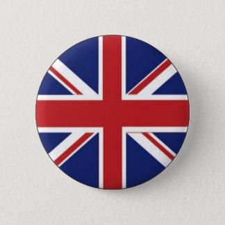 De Vlag van Engeland Ronde Button 5,7 Cm