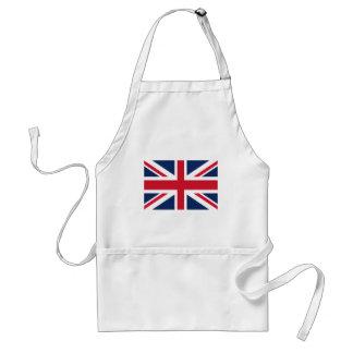 De vlag van Engeland Standaard Schort