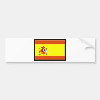 De Vlag van España Bumpersticker