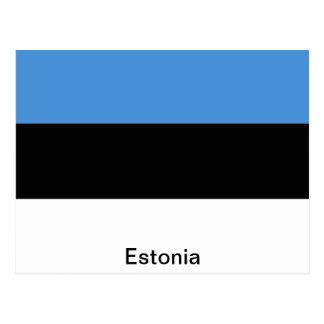 De vlag van Estland Briefkaart