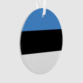 De Vlag van Estland Ornament