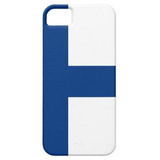 De vlag van Finland - Siniristilippu Barely There iPhone 5 Hoesje