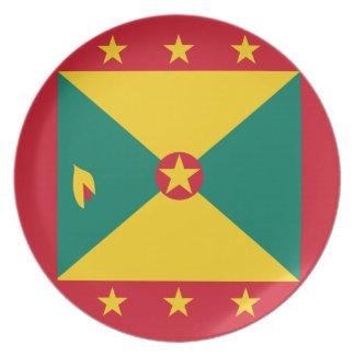 De Vlag van Grenada Melamine+bord
