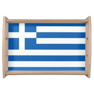 De Vlag van Griekenland Dienblad