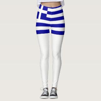 De vlag van Griekenland Leggings