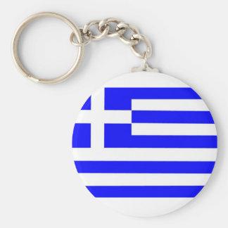 De Vlag van Griekenland Sleutelhanger