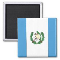 De vlag van Guatemala Vierkante Magneet