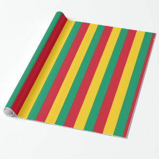 De Vlag van Guinea Cadeaupapier