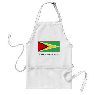 De Vlag van Guyana Standaard Schort