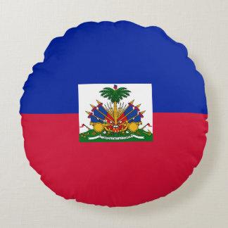 De Vlag van Haïti Rond Kussen