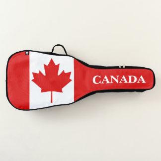 De vlag van het Blad van de Esdoorn van Canada Gitaartas