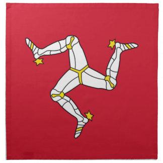 De Vlag van het Eiland Man op Servet MoJo