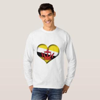 De Vlag van het Hart van Brunei T Shirt