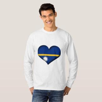 De Vlag van het Hart van Nauru T Shirt
