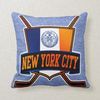 De Vlag van het Hockey van de Stad van New York Sierkussen
