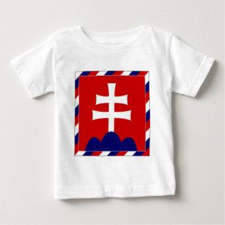 De Vlag van het President van Slowakije Baby T Shirts
