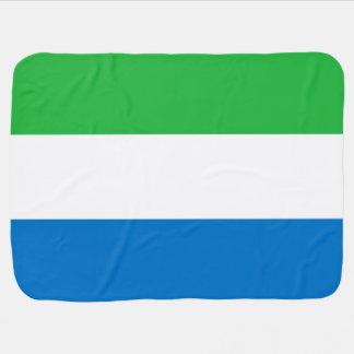 De Vlag van het Sierra Leone Inbakerdoek