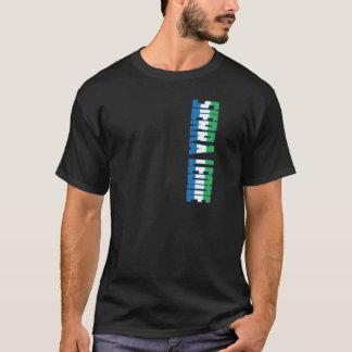 De Vlag van het Sierra Leone T Shirt