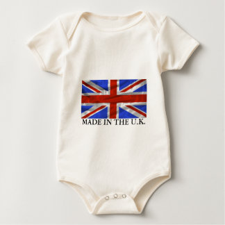 De Vlag van het Verenigd Koninkrijk Rompers