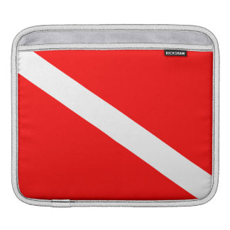 De Vlag van het vrij duiken Beschermhoes Voor iPad