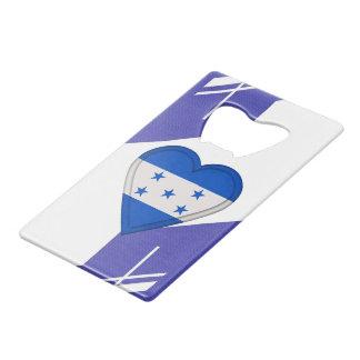 De Vlag van Honduras Creditkaart Flessenopener