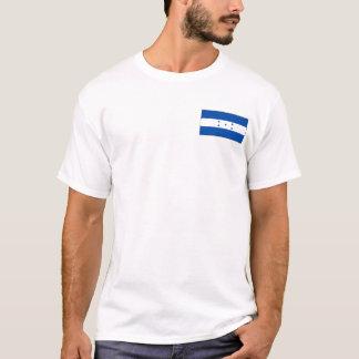De Vlag van Honduras en de T-shirt van de Kaart