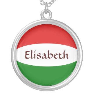 De Vlag van Hongarije + Het Ketting van de naam