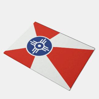 De Vlag van ICT van Wichita Deurmat