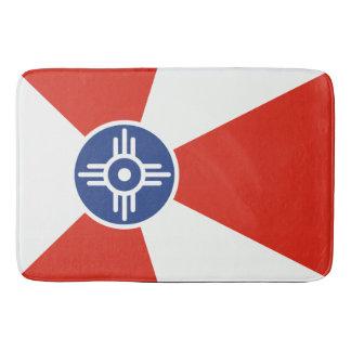 De Vlag van ICT van Wichita Kansas Badmat