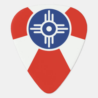 De Vlag van ICT van Wichita Kansas Gitaar Plectrum