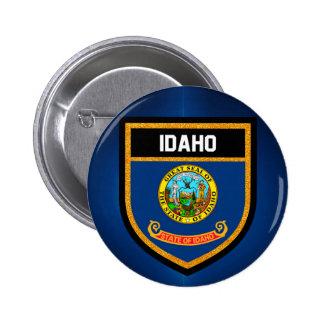 De Vlag van Idaho Ronde Button 5,7 Cm