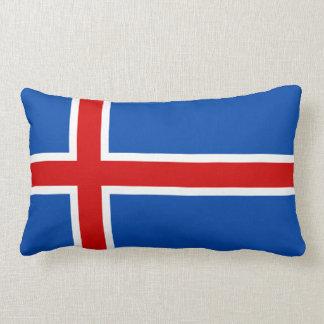 De vlag van IJsland Lumbar Kussen