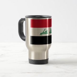 De Vlag van Irak Reisbeker