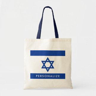 De vlag van Israelian van de zak van het de Draagtas