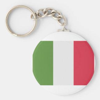 De Vlag van Italië - de Tjilpen van emoji Sleutelhanger