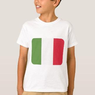 De Vlag van Italië - de Tjilpen van emoji T Shirt