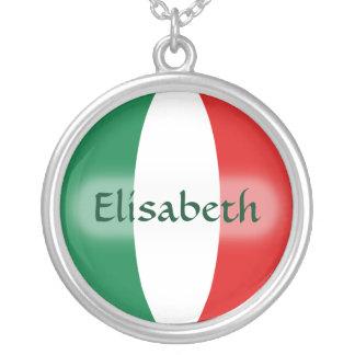 De Vlag van Italië + Het Ketting van de naam