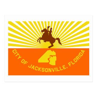 De Vlag van Jacksonville Briefkaart