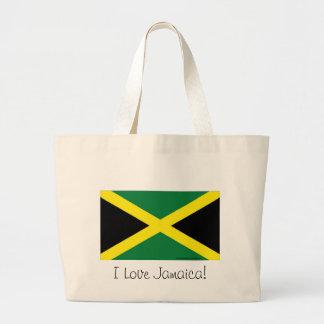 De vlag van Jamaïca Grote Draagtas