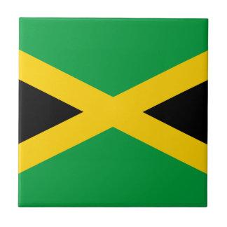 De Vlag van Jamaïca Tegeltje