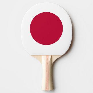 De Vlag van Japan Tafeltennis Bat