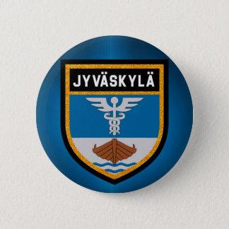 De Vlag van Jyväskylä Ronde Button 5,7 Cm