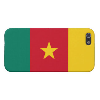 De Vlag van Kameroen iPhone 5 Cases