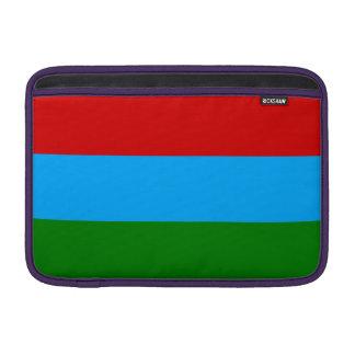De Vlag van Karelië MacBook Beschermhoes