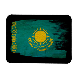 De Vlag van Kazachstan Magneet