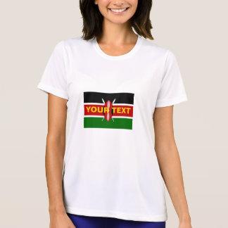 De Vlag van Kenia van de douane T Shirt