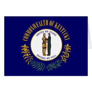 De Vlag van Kentucky Briefkaarten 0