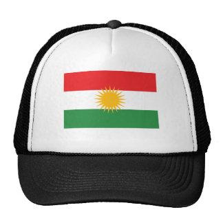 De Vlag van Koerdistan Petten Met Netje