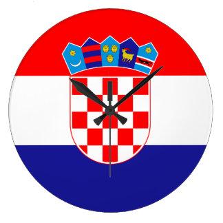 De Vlag van Kroatië Grote Klok