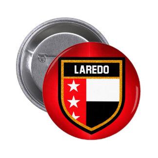De Vlag van Laredo Ronde Button 5,7 Cm
